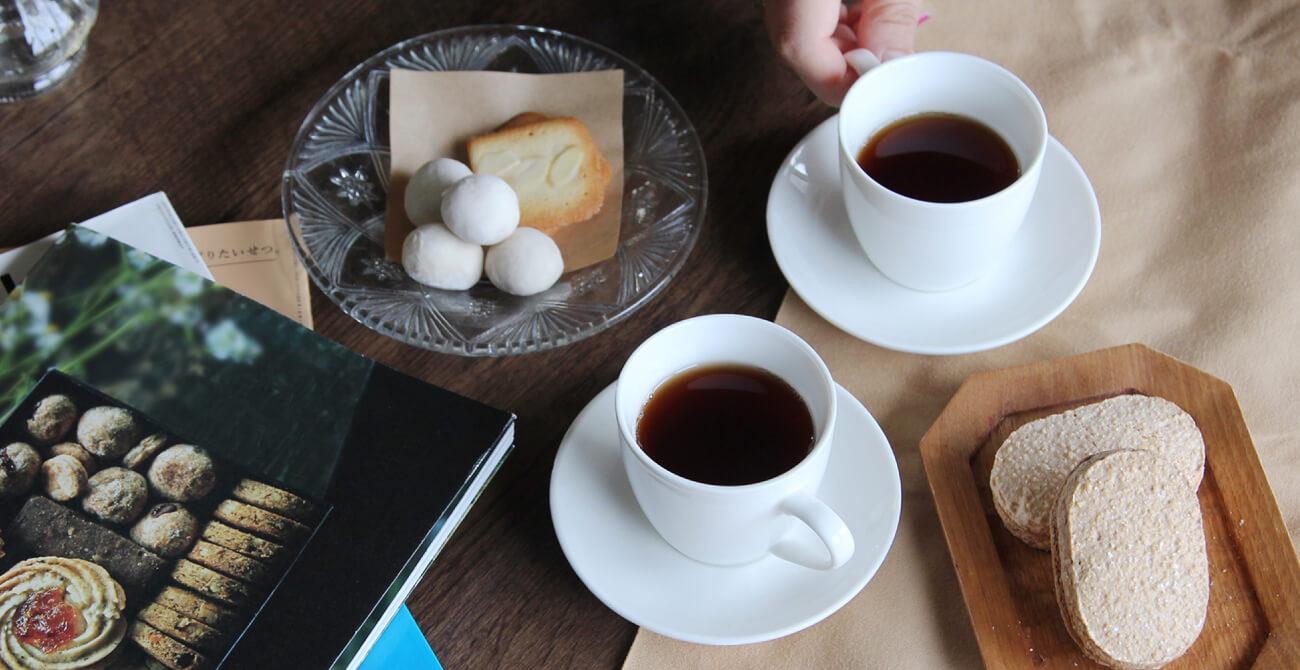 甘茶入り生姜ほうじ茶